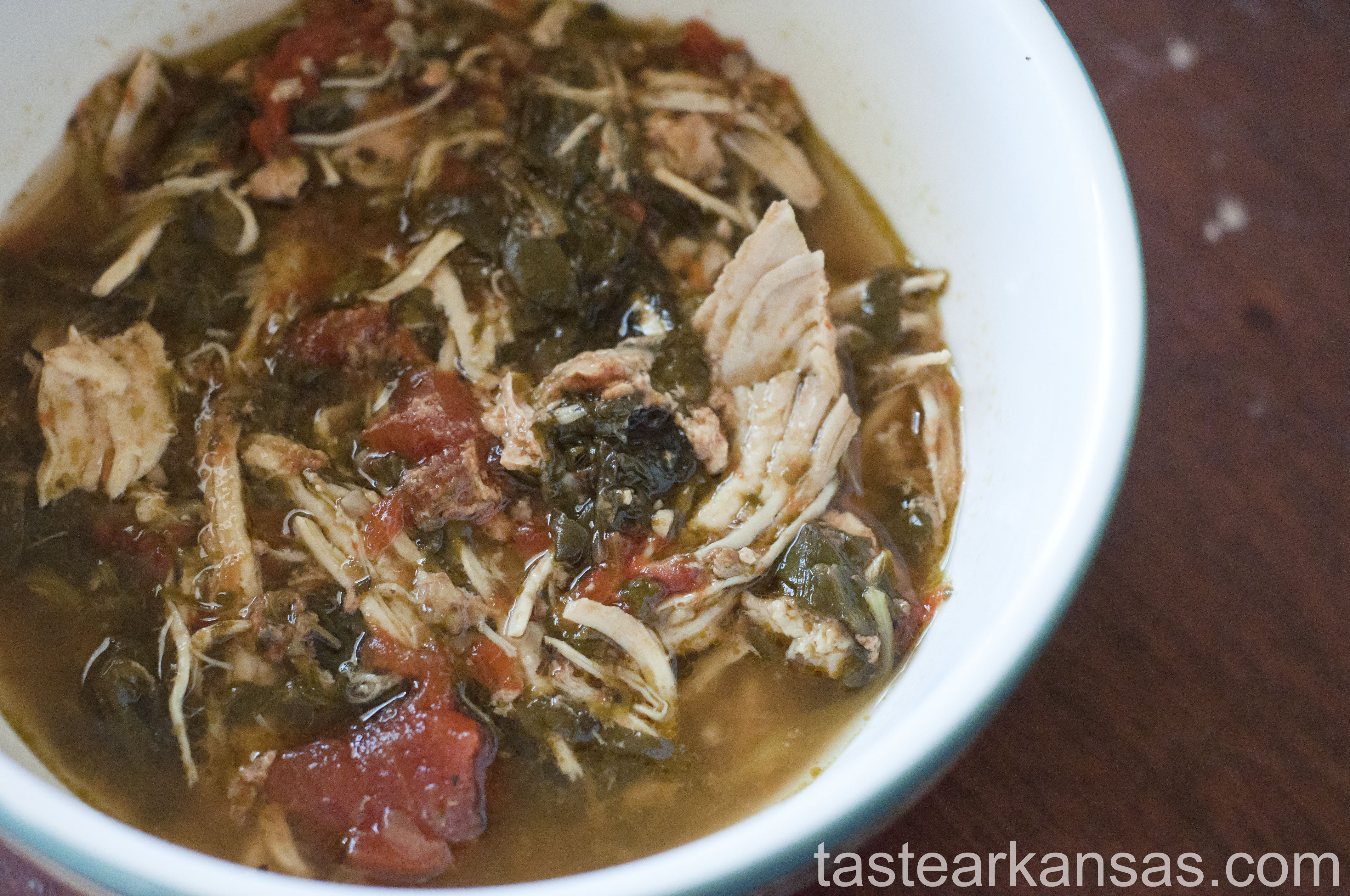 Slow Cooker Spinach Chicken