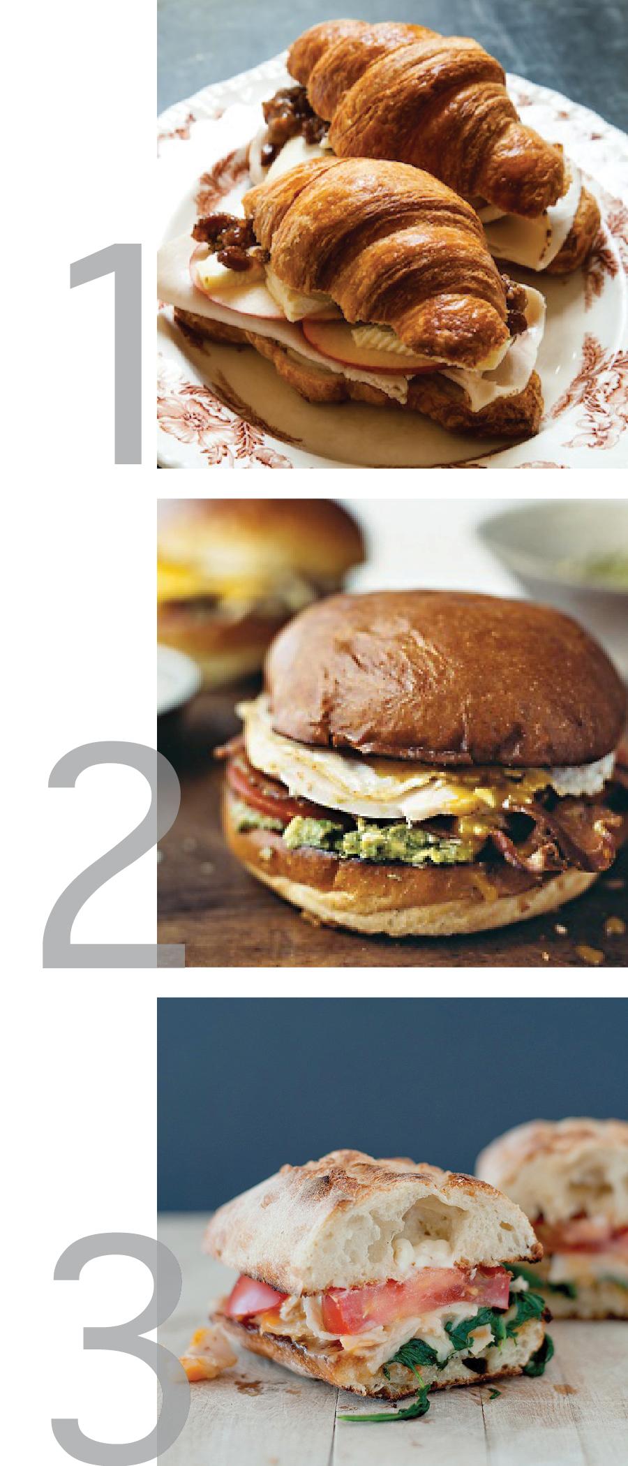 Weekly Pinspiration: Turkey Sandwiches